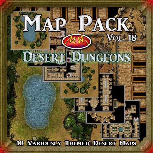 Map Pack V18: Desert Dungeons