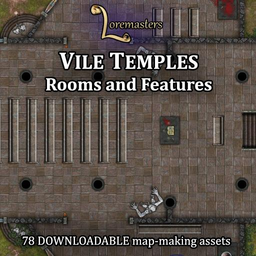 Vile Temples: Rooms and Features