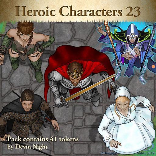 Heroic Characters 23