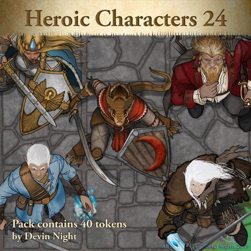 Heroic Characters 24