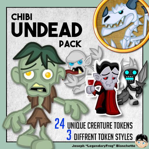 Chibi Undead Pack