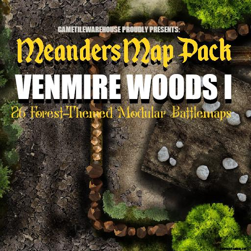 Meanders Map Pack VENMIRE WOODS