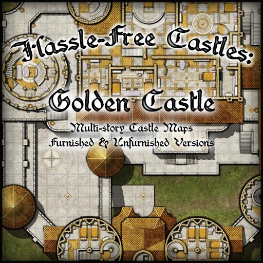 Hassle-Free Castles: Golden Castle