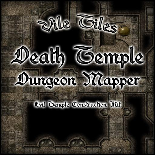 Vile Tiles: Death Temple Dungeon Mapper