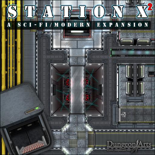 Station X2 Sci-Fi Expansion