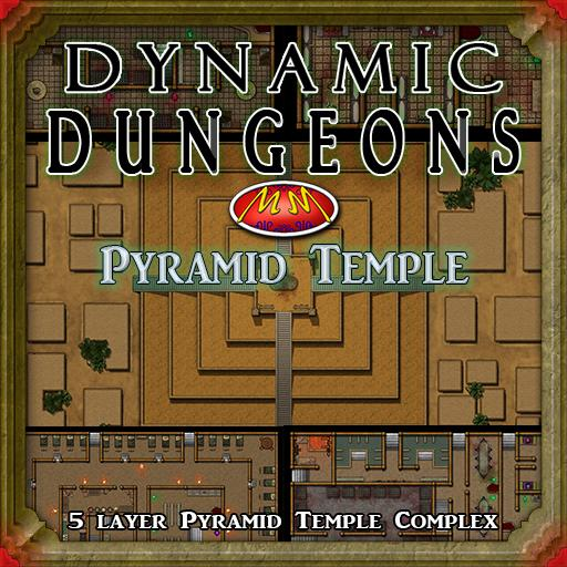 Dynamic Dungeon V4: Pyramid Temple