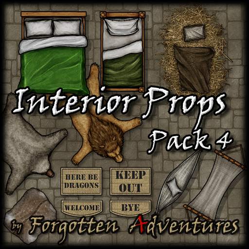 Interior Props - Pack 4