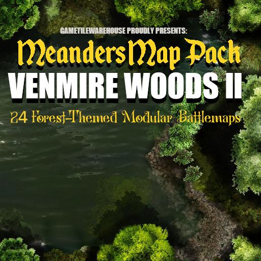 Meanders Map Pack VENMIRE WOODS II