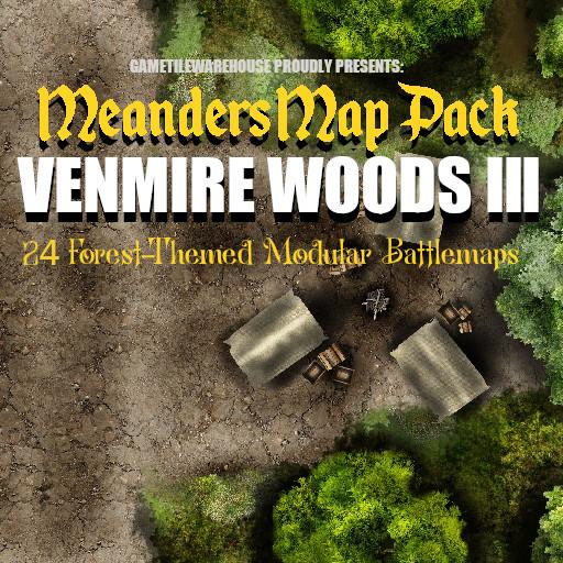 Meanders Map Pack VENMIRE WOODS III