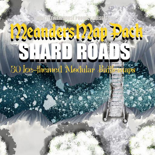 Meanders Map Pack SHARD ROADS