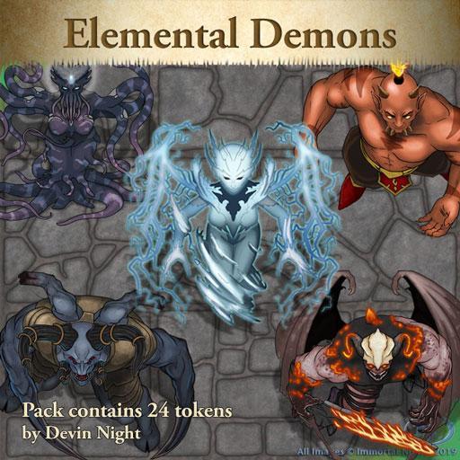Elemental Demons