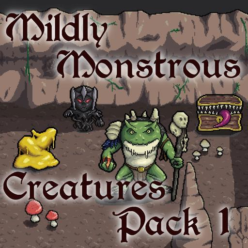 Mildly Monstrous - Creatures Pack 1