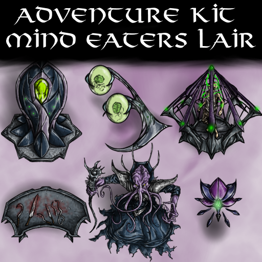 Adventure Kit Mind Eaters Lair