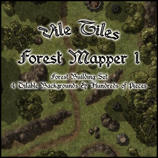 Vile Tiles: Forest Mapper 1