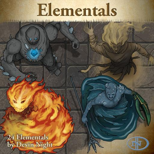 63 Elementals Roll20 Marketplace Digital Goods For