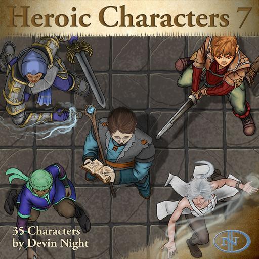 64 - Heroic Characters 7