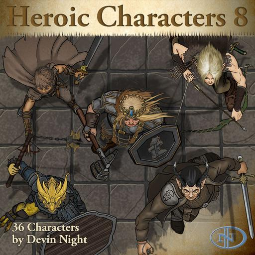 Devin Token Pack 65 - Heroic Characters 8