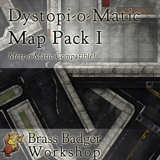 Dystopio-Matic Modern City Map Pack I