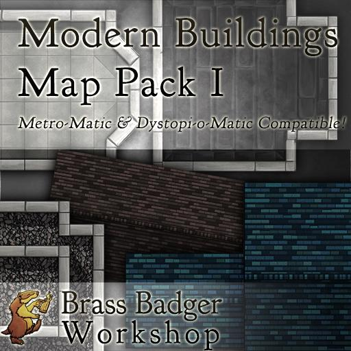 Metro-Matic Modern City Buildings Pack I