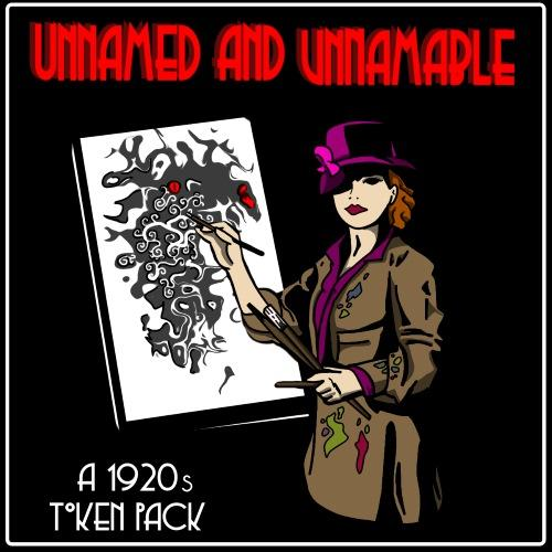 Unnamed and Unnamable - 1920s Token Pack
