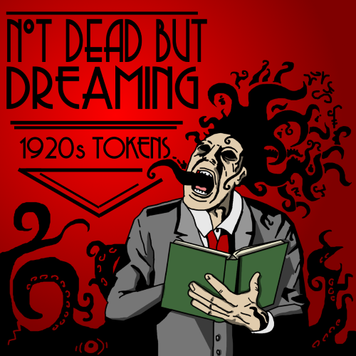 Not Dead but Dreaming - 1920s Token Pack