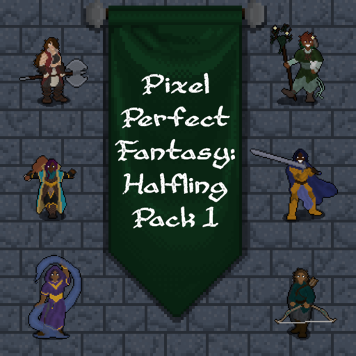 Pixel Perfect Fantasy: Halfling Pack 1