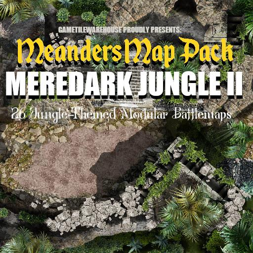 Meanders Map Pack MEREDARK JUNGLE II