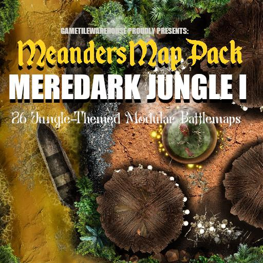 Meanders Map Pack MEREDARK JUNGLE