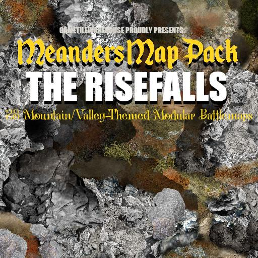 Meanders Map Pack THE RISEFALLS