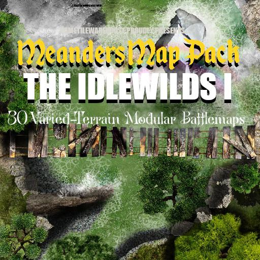 Meanders Map Pack THE IDLEWILDS I
