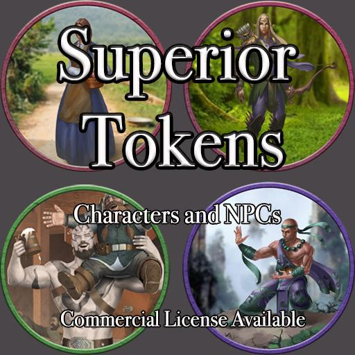 5E SRD Tokens - Characters and NPCs