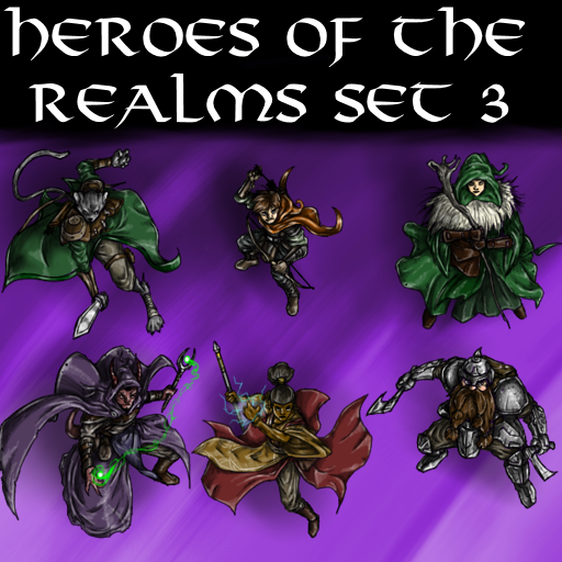 Heroes of the Realms Set 3