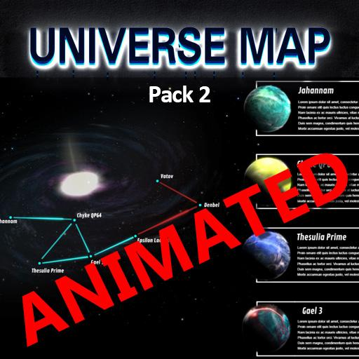 Universe Map pack 2