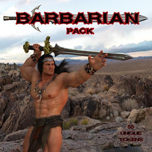 Ddraig Goch's Barbarian Pack