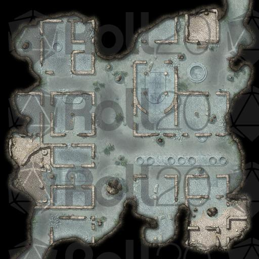 Quick Encounters Aquatic Ruin Maps Roll20 Marketplace Digital