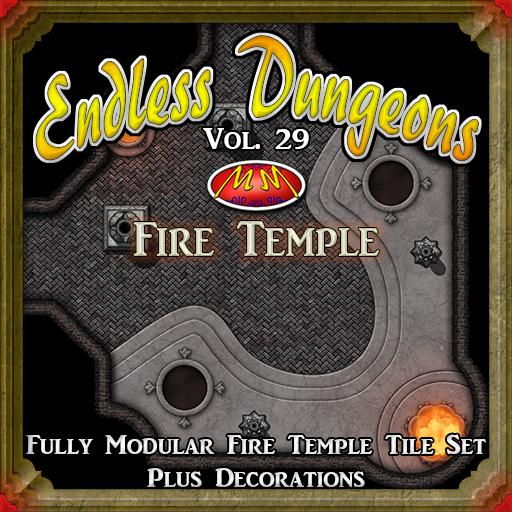 Endless Dungeons V29 Fire Temple