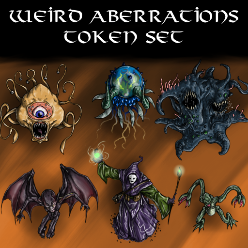 Weird Aberrations Token Set
