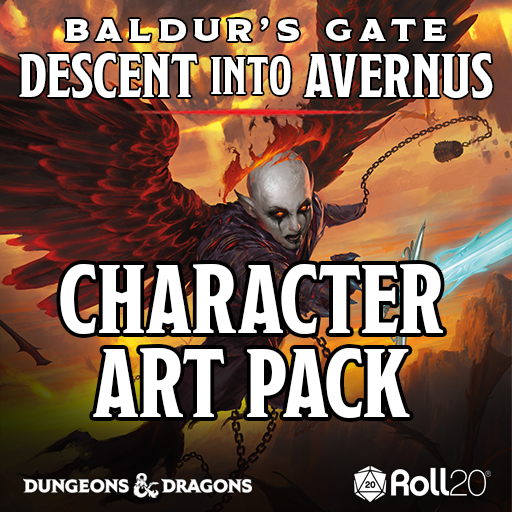 Baldur's Gate: Descent into Avernus Character Art Pack