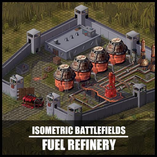 Isometric Battlefields: Fuel Refinery