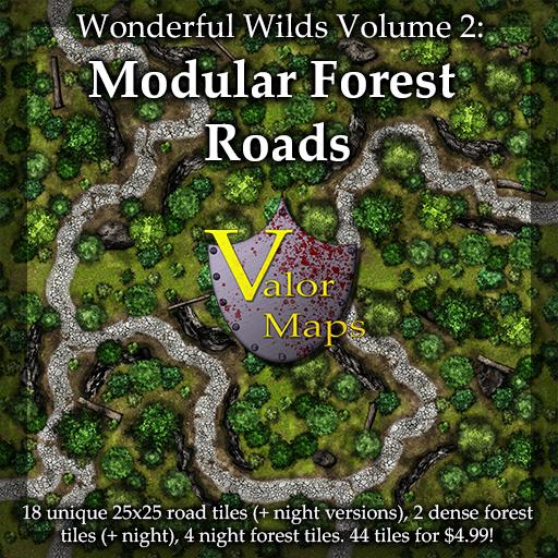 Wonderful Wilds V2: Modular Forest Roads