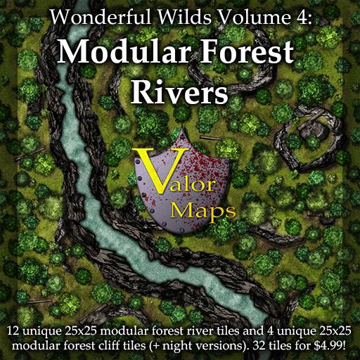Wonderful Wilds V4: Modular Forest Rivers
