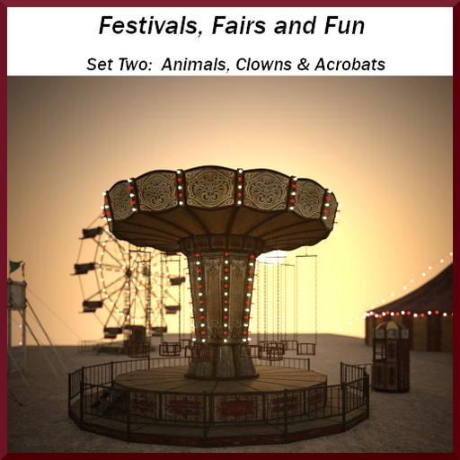 Festivals, Fairs, & Fun: Set 2 - People and Animals