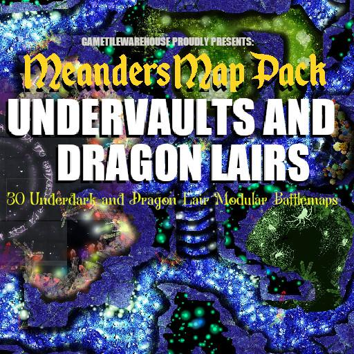 Meanders Map Pack UNDERVAULTS and DRAGON LAIRS