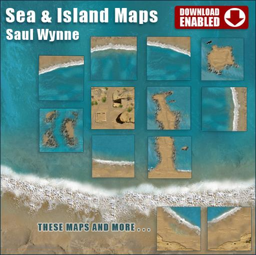 Sea and Island Maps