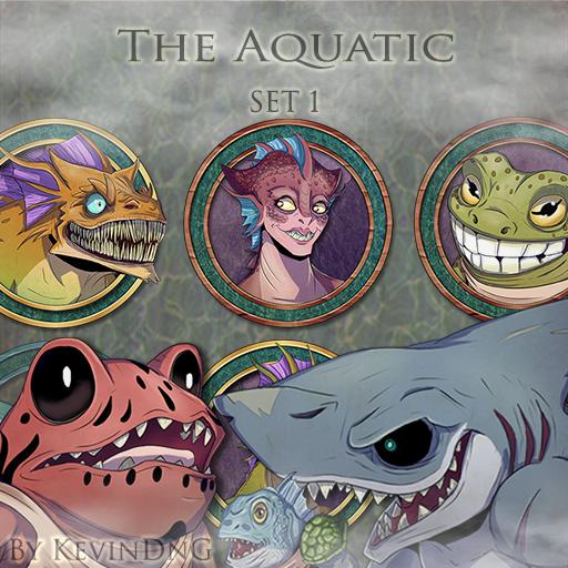 The Aquatic - Set 1