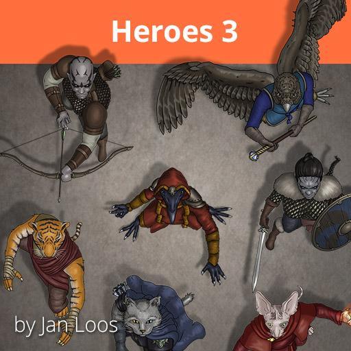 Jans Token Pack 10 - Heroes 3