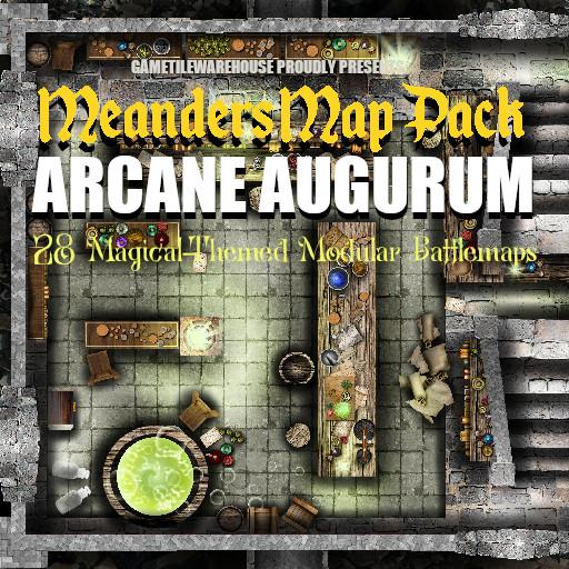 Meanders Map Pack ARCANE AUGURUM