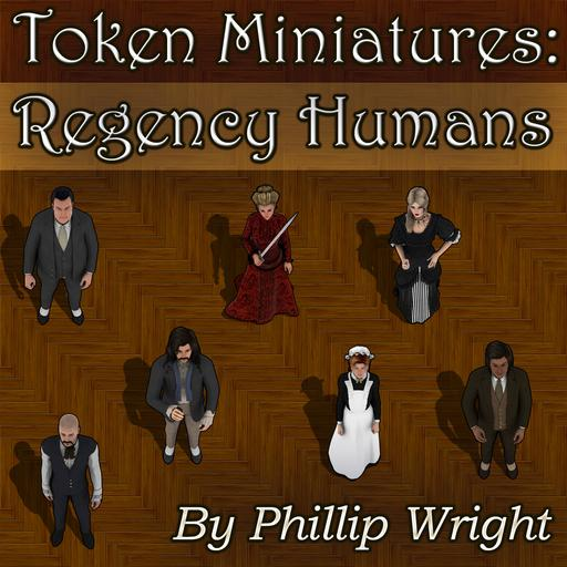 Token Miniatures - Regency Humans