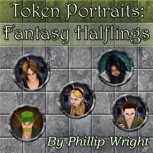 Token Portraits - Fantasy Halflings