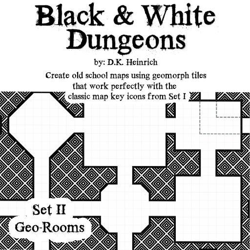 Black & White Dungeons - Set II